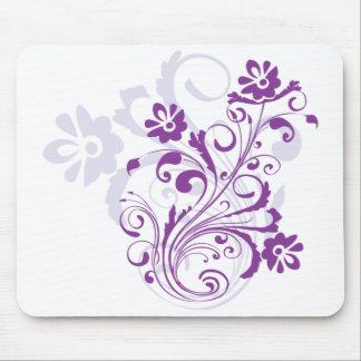 Purple Flourish Mousepad