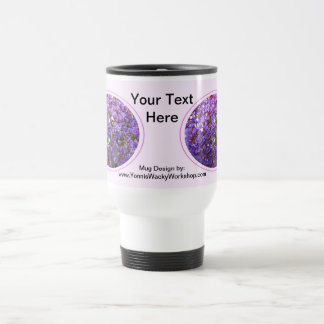 Purple Flower #12 Travel Mug