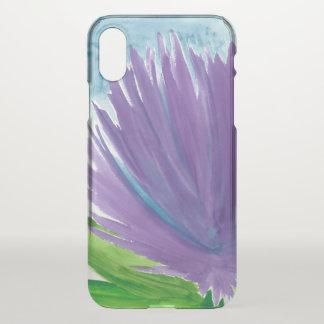 Purple Flower 1 iPhone X Case