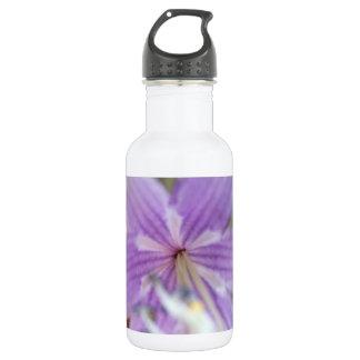 Purple Flower 532 Ml Water Bottle