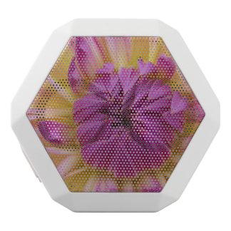 Purple Flower White Boombot Rex Bluetooth Speaker