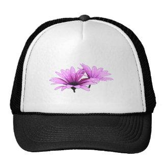 Purple Flower Cap Hat