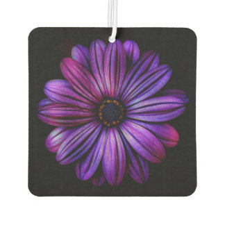 Purple Flower Car Air Freshener