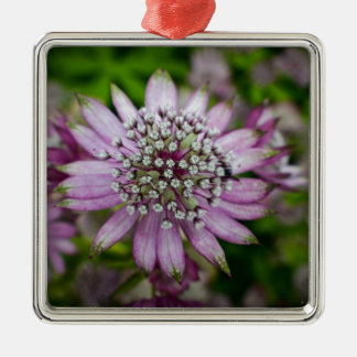 Purple Flower Christmas Ornament