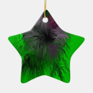 Purple Flower Ornaments