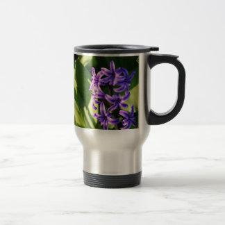 Purple Flower Delight Mug