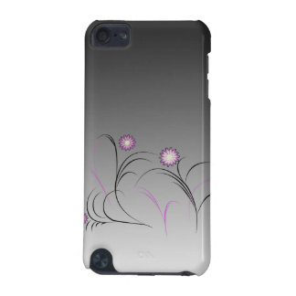 Purple Flower Doodle iPod Case iPod Touch 5G Covers