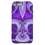 Purple Flower Dreams Tough iPhone 6 Case