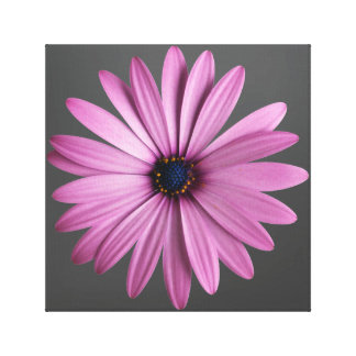 Purple Flower Gallery Wrapped Canvas