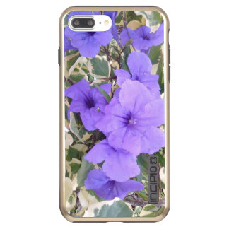 PURPLE FLOWER INCIPIO DualPro SHINE iPhone 8 PLUS/7 PLUS CASE