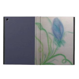 purple flower ipad air case