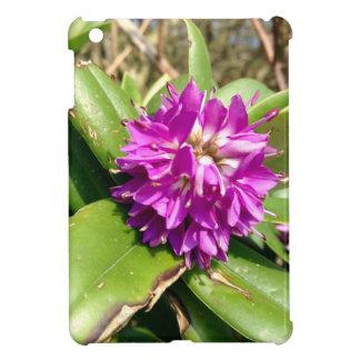 Purple flower iPad mini cases