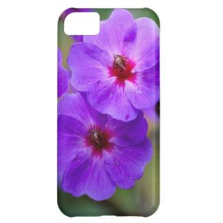Purple flower iPhone 5C case