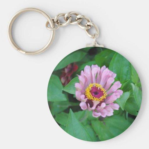 Purple Flower Key Chains