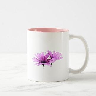 Purple Flower Mugs