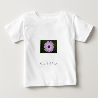 Purple Flower, Mummy´s Little Flower Baby T-Shirt