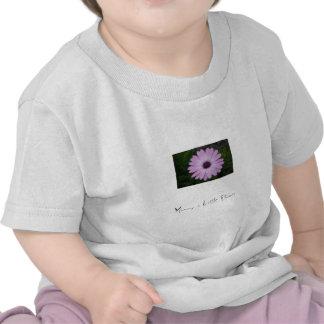 Purple Flower, Mummy´s Little Flower T Shirts