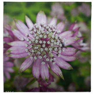 Purple Flower Napkin