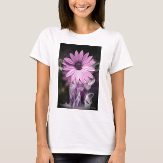 Purple Flower On Fitted Top From Bella