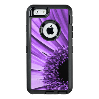 Purple Flower OtterBox Defender iPhone Case