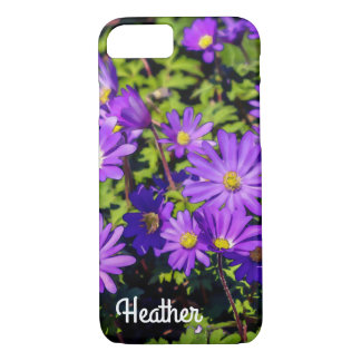 Purple Flower Phone Case