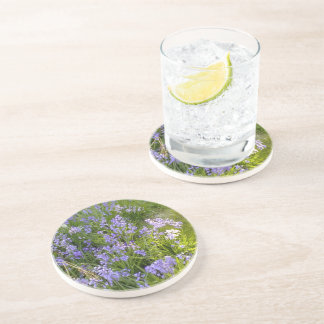 Purple Flower plant Coaster