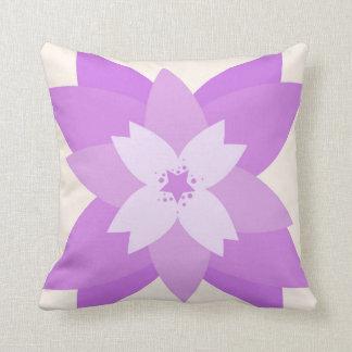 Purple Flower Prydnadskuddar