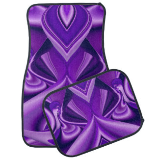 Purple Flower Rainbow Dreams Car Mat