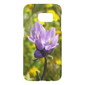 Purple Flower Samsung Galaxy S7 Case