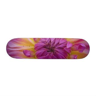 Purple Flower Skateboard