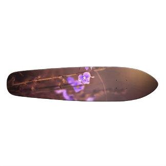 Purple Flower Skateboard Decks