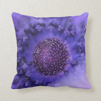 Purple Flower Throw Cushion Pillows