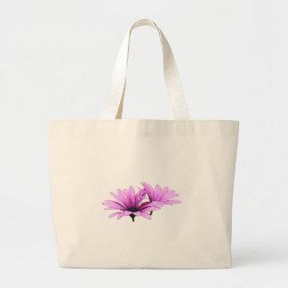 Purple Flower Jumbo Tote Bag