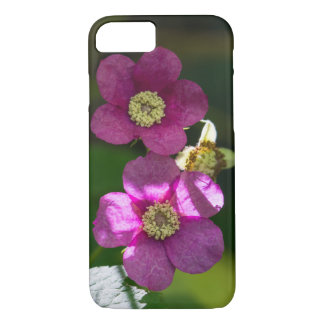 Purple-flowering Raspberry Flower Smartphone Case