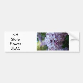 Purple Flowers Bumper Sticker