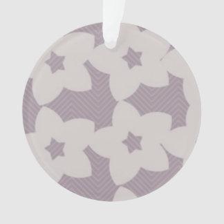 purple flowers Circle Ornament
