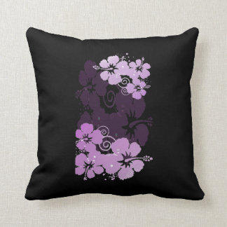 Purple Flowers Cushion