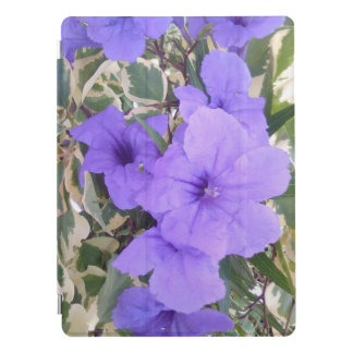 PURPLE FLOWERS iPad PRO COVER