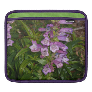 Purple Flowers Sleeves For iPads