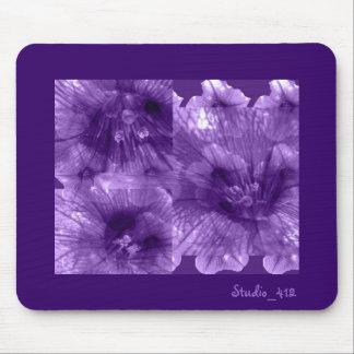 Purple Flowers Mouse Mat