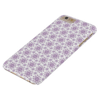 Purple flowers on white background. iPhone  case