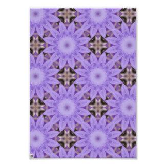 Purple Flowers Art Photo