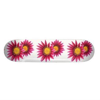 purple flowers skateboard