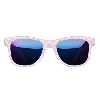 Purple flowers sunglasses