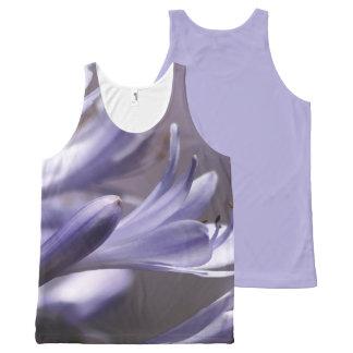 Purple Flowers tank