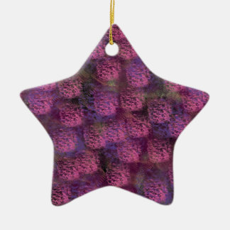 Purple Fluffy Texture Collection Christmas Ornament