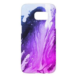 purple fluid art for Galaxy beautiful