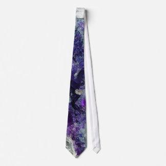 Purple Fluorite Tie
