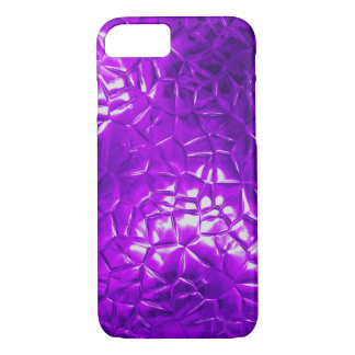 purple foil 3D abstract iPhone 8/7 Case