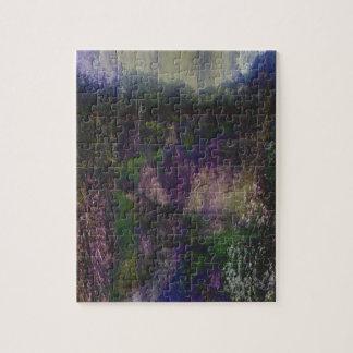 Purple Forest Journey Jigsaw Puzzle